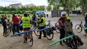 Cyclofrites - pour le respect des distances de sécurité