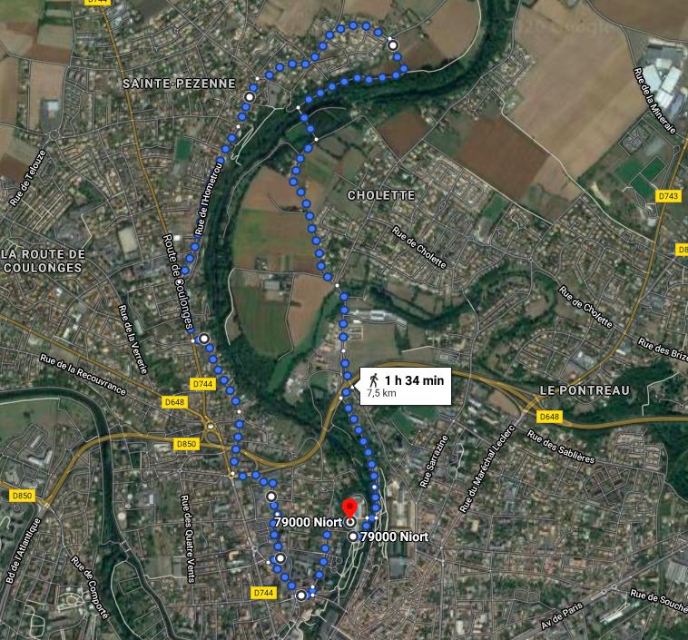 Tour de Roues : en route pour Sainte-Pézenne ! @ Local villOvélO