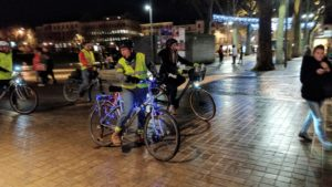 Osons le vélo la nuit 2020 @ Bas de la Place de la Bréche- NIORT