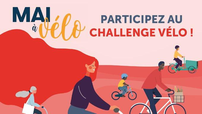 Le Challenge Mai à vélo est ouvert !